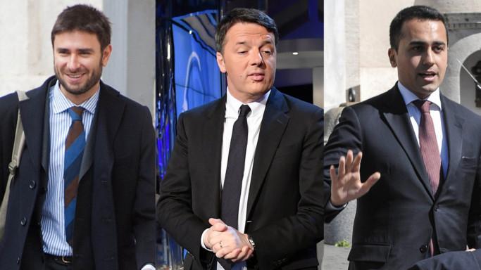 Ma è vero che Di Battista e Di Maio guadagnano il doppio di Renzi premier?