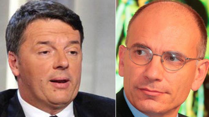 Nuovo duello tra Renzi e Letta. Questa volta sui conti