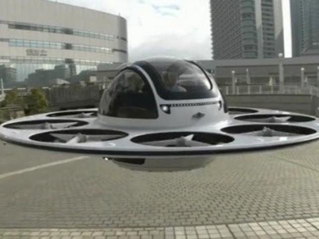 Un 'disco volante' disegnato in Italia trasporterà passeggeri