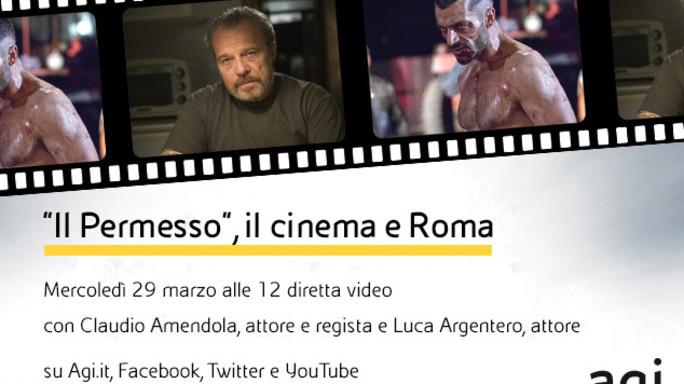 """Claudio Amendola e Luca Argentero alle 12 in diretta web a """"Viva l'Italia"""""""