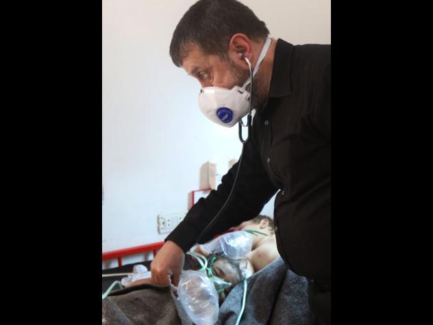 Siria: bambini con sintomi da gas nervino