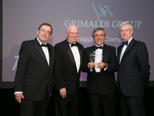 Premio Shipping Company of the Year per il Gruppo Grimaldi