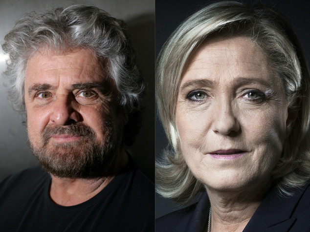 Marine Le Pen contro Papa Francesco sull'immigrazione