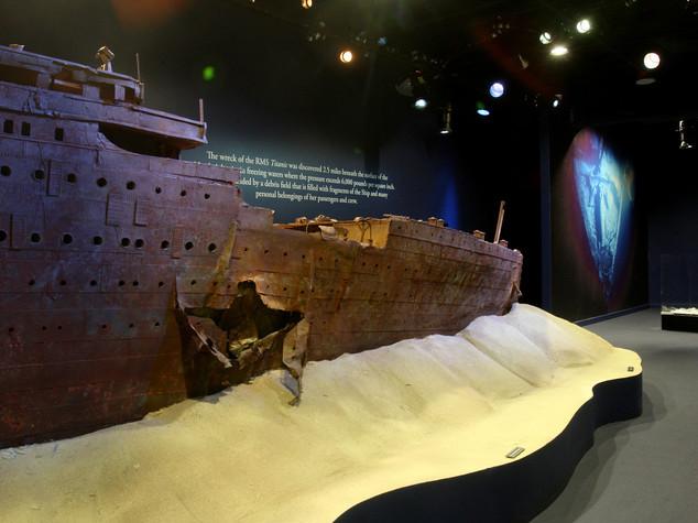 Una mostra per raccontare ciò che resta del Titanic