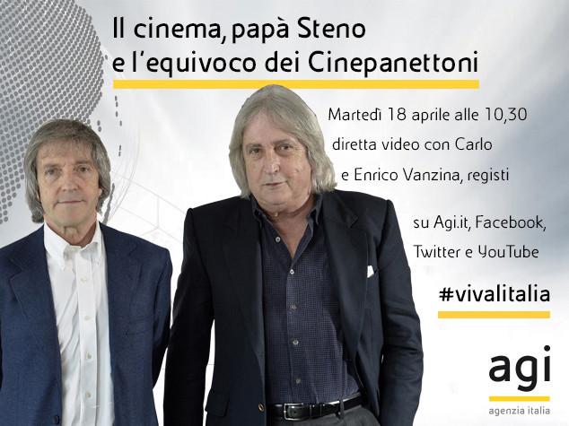 Da Steno ai cinepanettoni: Carlo ed Enrico Vanzina a 'Viva l'Italia'