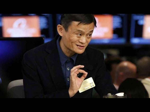 "Alibaba: debutto col 'botto' a Wall Street, chiude +38,1%. Jack Ma, ""mi ispiro a Forrest Gump"""
