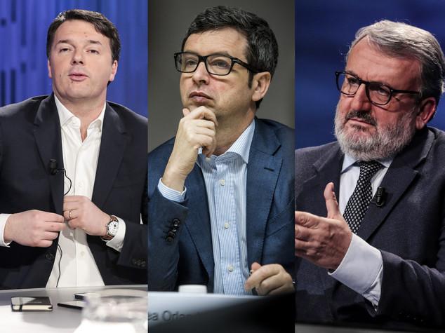 Primarie Pd, Renzi teme più i gazebo vuoti che Olando e Emiliano