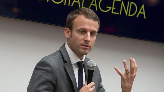 Macron, il presidente delle startup