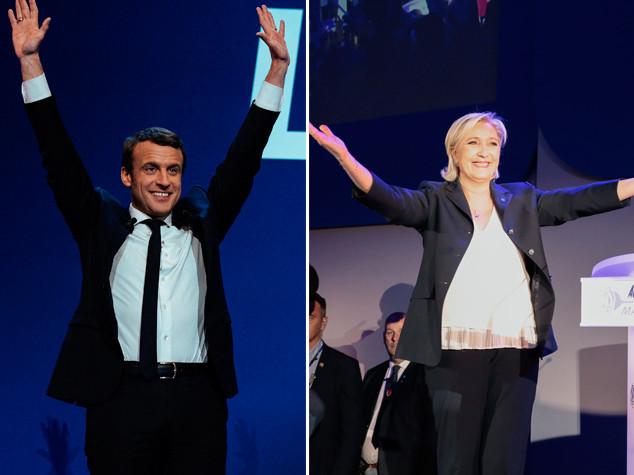 Macron e Le Pen hanno eliminato i partiti tradizionali dalla corsa all'Eliseo