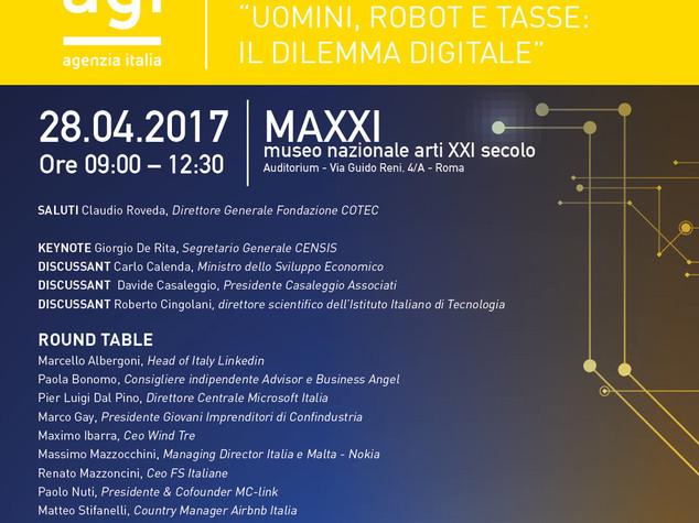 L'InternetDay di AGI per rilanciare il digitale in Italia