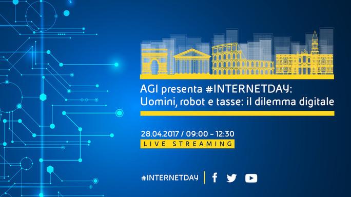 Calenda e Casaleggio all'#internetday di AGI e Censis