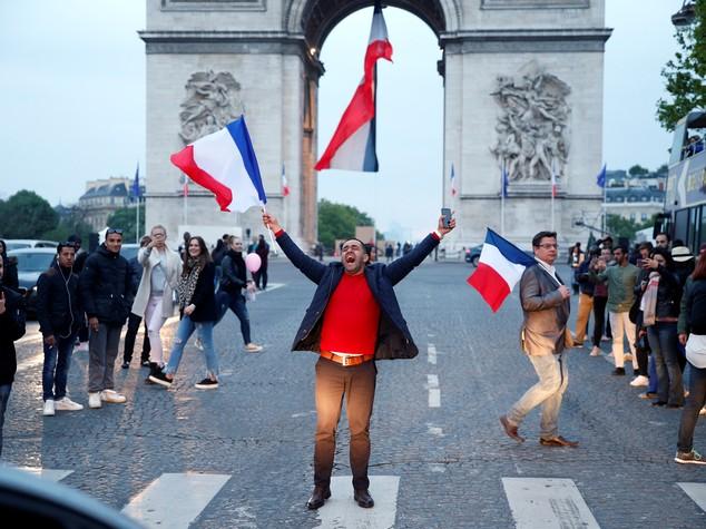 La mappa della vittoria di Emmanuel Macron