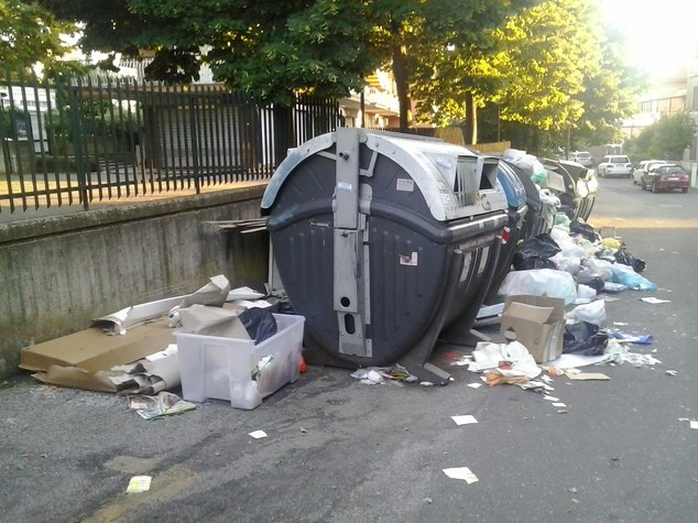Sull'emergenza rifiuti a Roma Virginia Raggi ha torto