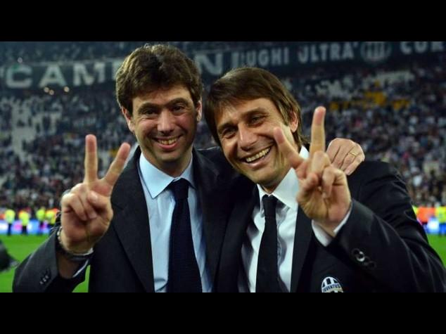 Calcio: Agnelli ringrazia Conte, 'sei stato grande condottiero'