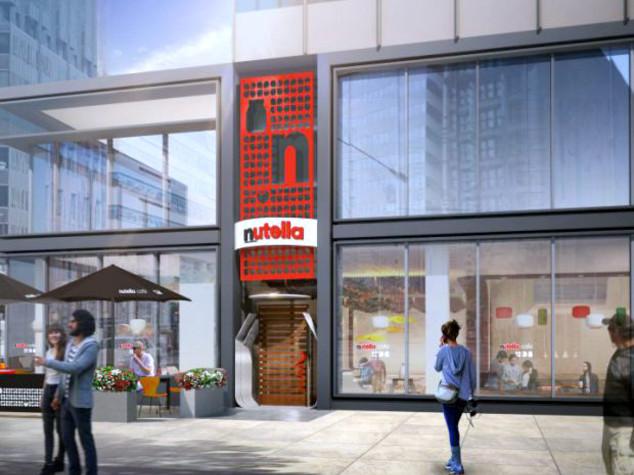 Apre a Chicago il primo Nutella Cafè del mondo
