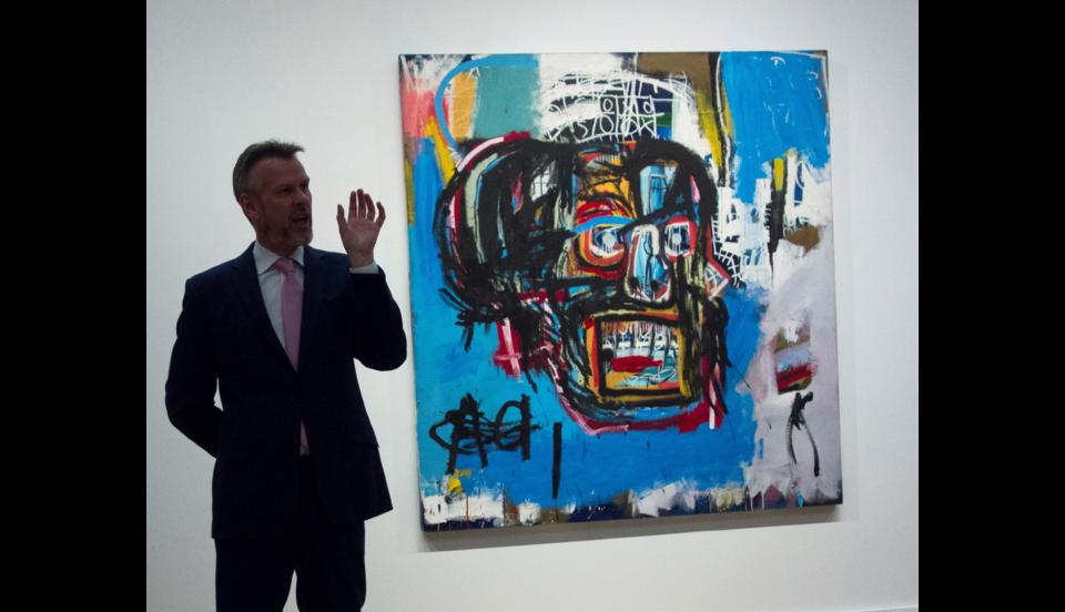 Usa, quadro di Basquiat venduto per 110 milioni di dollari