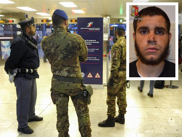 L'aggressore di Milano inneggiava all'Isis - Guarda il video