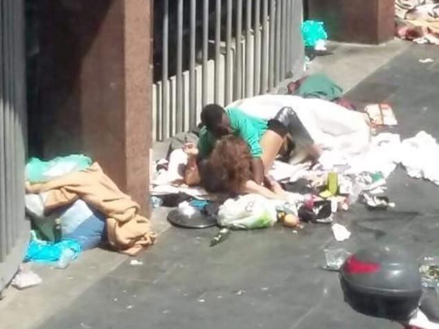 Dietro gli amanti di Piazza Indipendenza un 'gioiello' occupato