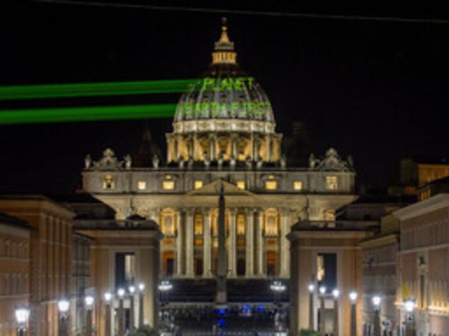 Proiezione a San Pietro