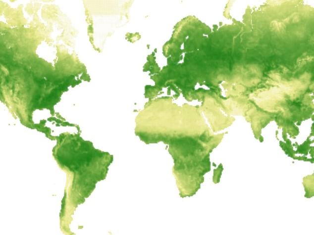 Il respiro della Terra, 52 settimane in una mappa