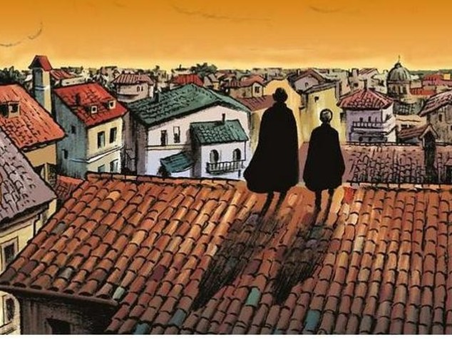 Sherlock Holmes a Roma, Bonelli pubblica albo n.1 di Mercurio Loi