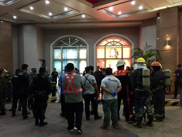 Paura per un attacco al casinò di Manila. Ma era una rapina