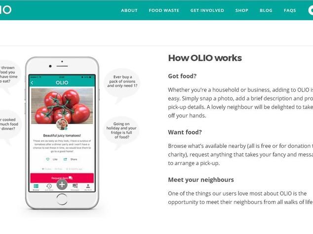 Si chiama Olio l'app che vuole evitare lo spreco alimentare