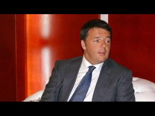 """Renzi: 1 punto di Pil solo aumentando export """"nei mille giorni"""""""