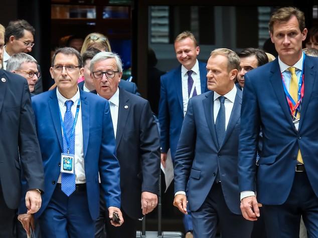 Immigrazione, Tusk: c'è l'accordo per sostenere l'Italia. Gentiloni: siamo soddisfatti