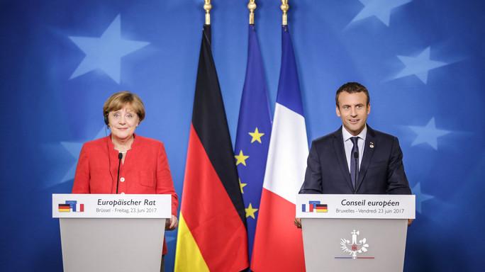 """Macron: """"Quando Germania e Francia non sono d'accordo, l'Europa non avanza"""""""