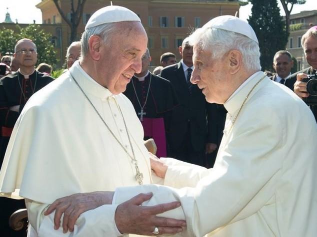 Quell'inno all'amicizia che accomuna Francesco, Benedetto e il Vangelo