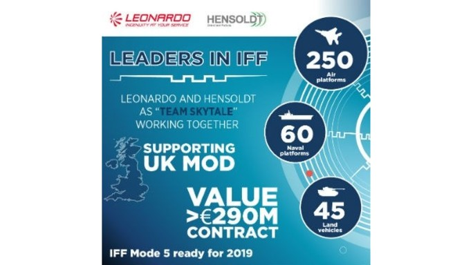 Leonardo: 290 million contract with Hensoldt for UK Defence