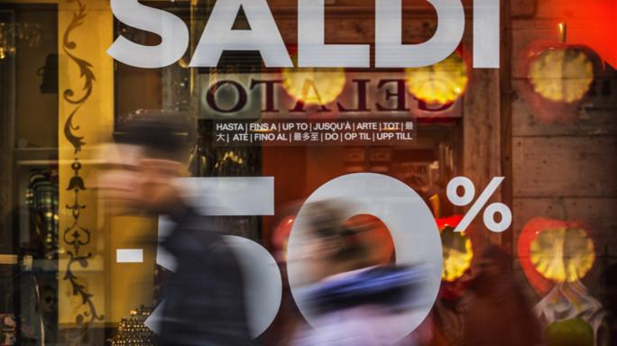 I saldi vanno male, cosa succede da Milano a Palermo
