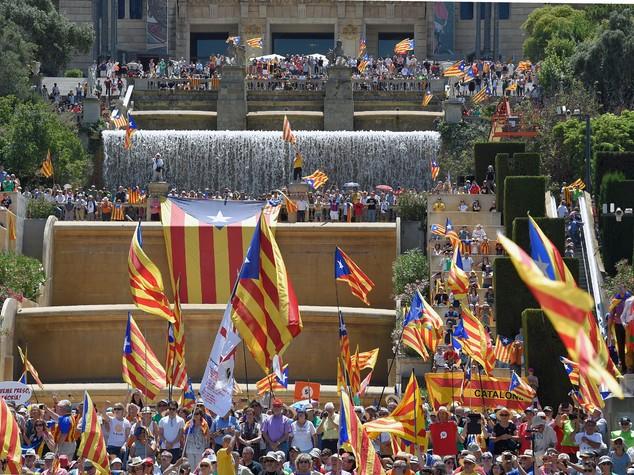 """""""La Spagna non è il nostro Paese. E' contro di noi"""""""