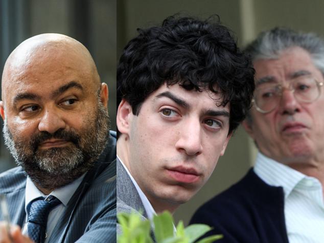 Umberto Bossi e il figlio Renzo condannati per appropriazione indebita