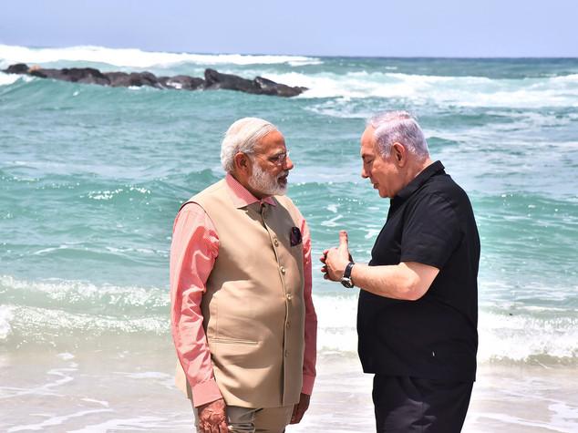 Tra India e Israele sta per scoppiare l'amore