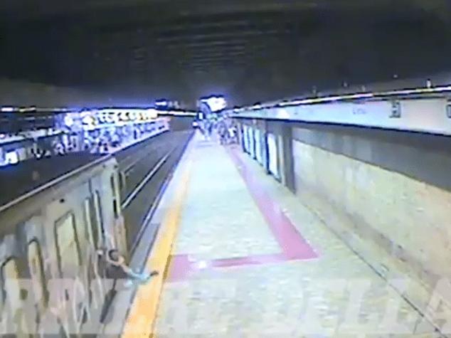 Sono 11 i video che incastrano il macchinista della metro di Roma