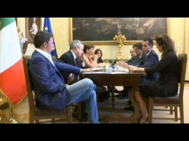 Renzi-M5S, aperture e nuovo round dopo Senato