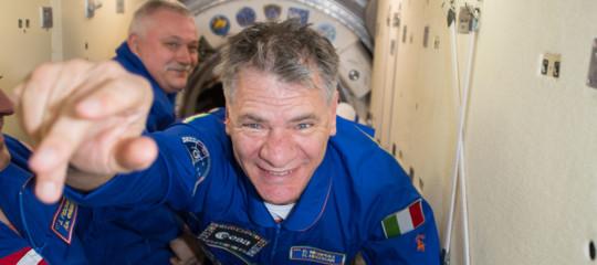 paolo nespoli astronauta pensione