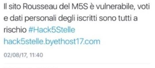 Che fine ha fatto l'hacker che ha bucato il sito del Movimento 5 Stelle?