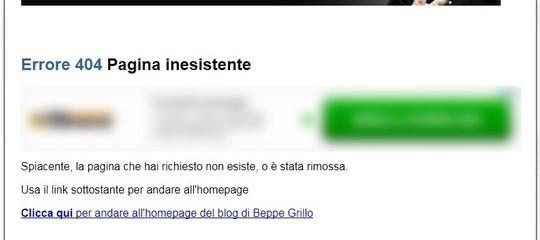 Nuova falla nelblogdi Grillo: i dati accessibili a tutti cercando suGoogle