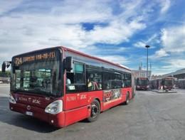 Un autista dell'Atac ha posteggiato il bus sotto casa propria