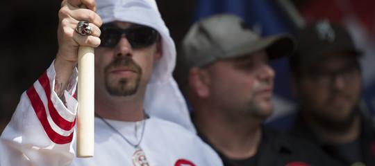 In Usa esistono 917 gruppi che professano l'odio razziale e la supremazia bianca