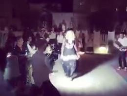 Madonna scatenata nella masseria pugliese, balla la pizzica per i 59 anni