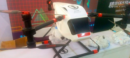 In Cina una flotta di droni consegna 1600 pacchi al giorno