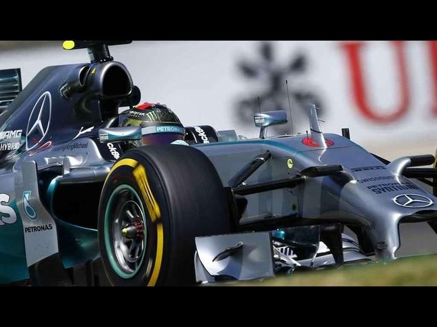 F1: Rosberg fastest in German GP practices