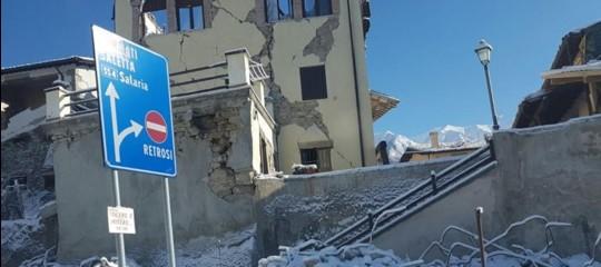 """Terremoto: monito dei vescovi, """"superare ritardi della ricostruzione"""""""