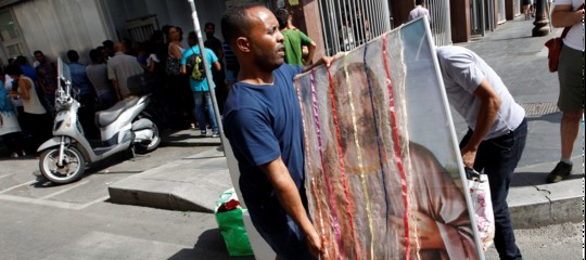 Dopo due sgomberi e una rissa politica, dove sono gli 800 eritrei?