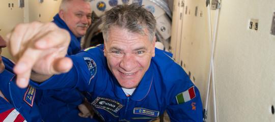 Sulla Stazione Spaziale Internazionale con Paolo Nespoli per il progetto ARTE