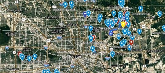 Salvarsi dall'uragano Harvey usando le mappe (collettive) di Google